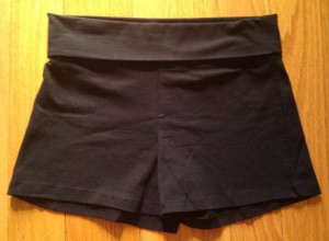 cotton yoga shorts