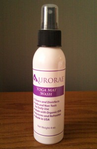 Aurorae Yoga Mat Spray Wash - 4 oz