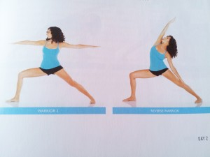 yogalosophy warrior pose
