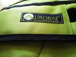 Aurorae yoga mat backpack