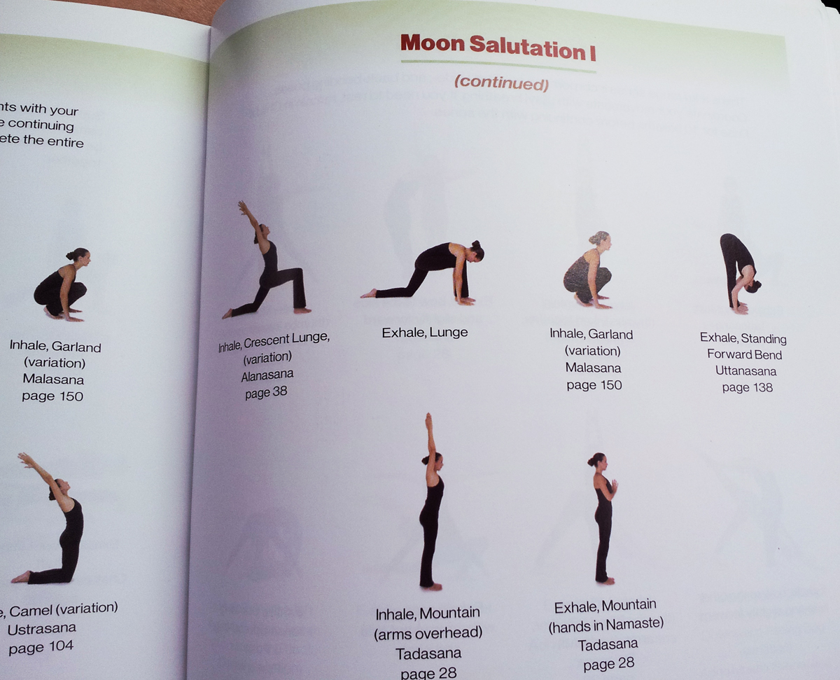 Hatha Yoga Illustrated Moon Salutations Hathayoga Com