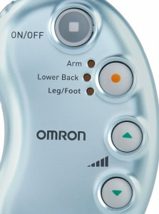 Omron TENS unit controls