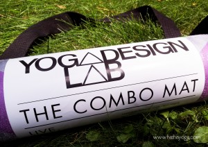 Hatha Yoga Design Lab Combo Mat with strap