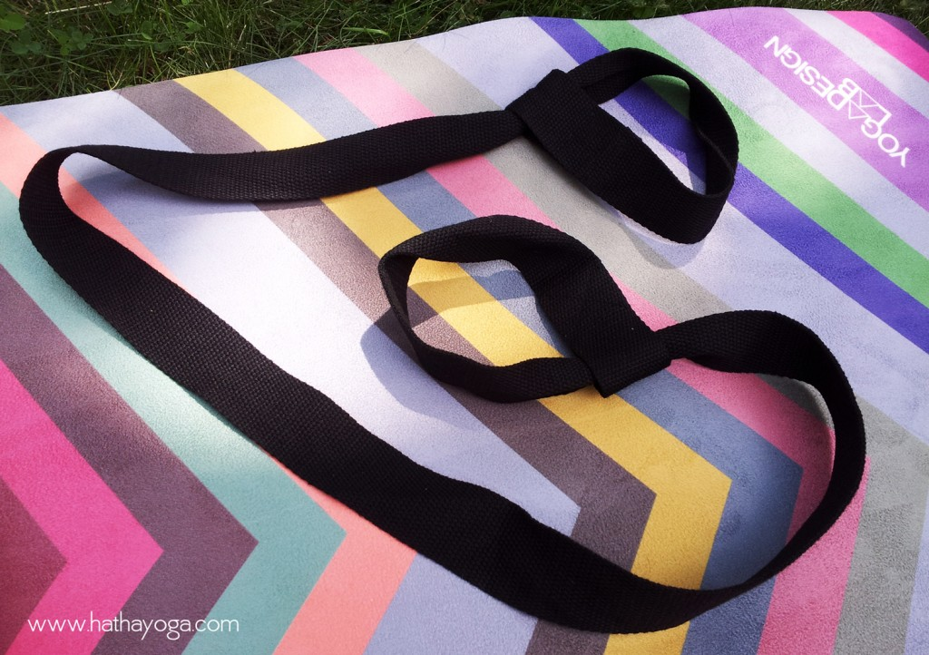 Hatha Yoga Design Lab Chevron Combo Mat and Strap